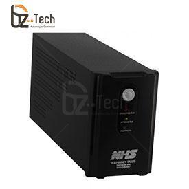 Nobreak NHS Senoidal FP 0.7 Compact Plus Digiseno 700VA Bivolt - 1 Porta USB e 2 Baterias 7Ah