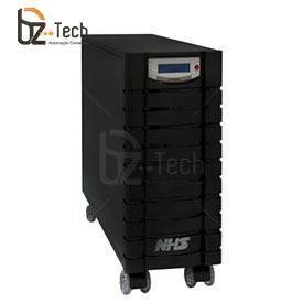 Nobreak NHS Senoidal FP 0.6 Laser EXT 3300VA Bivolt - 1 Porta Engate, 3 Baterias 45Ah com Módulo de 6 Baterias 45Ah