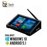 Computador All in One 10.8 Polegadas Touch Screen POStech e-PDV 3 - Intel Atom x5-Z8300 1.8GHz, 4GB, 64GB, Android 5.1 e Windows 10