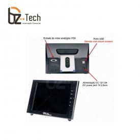 Monitor Touch Screen 8 Polegadas LCD POStech GPS080N12014X5