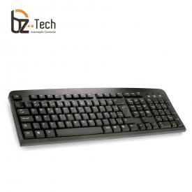 Teclado POStech ABNT2 - USB Preto