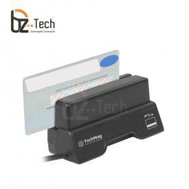 Techmag Leitor Cartao Magnetico Magpass Trilha1 2 3