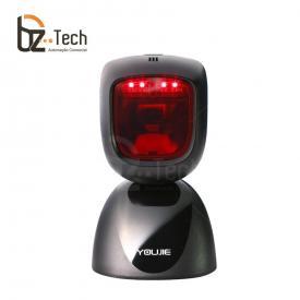 Leitor Fixo Honeywell Youjie HF600 Imager 2D QR Code