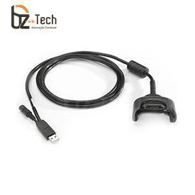 Cabo Zebra USB para Coletor Symbol Motorola MC30, MC31 e MC32 - Carga e Comunicação