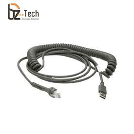 Cabo Zebra USB para Leitor Symbol Motorola - Espiral 4,6 metros