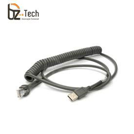 Cabo Zebra USB para Leitor Symbol Motorola - Espiral 2,8 metros