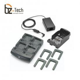 Foto Zebra Carregador Bateria Mc75 Mc70 Mc32 Mc31 Mc30 4posicoes Com Adaptador