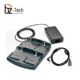 Carregador de Bateria Zebra para Coletor Symbol Motorola MC75, MC70, MC32, MC31 e MC30 - 4 Posições