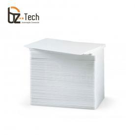 Cartão PVC Branco Zebra com Faixa para Assinatura - 500 Cartões