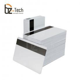 Cartão PVC Branco Zebra com Tarja Magnética