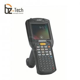 Coletor de Dados Zebra MC3200 2D QR Code Longa Distância - Windows CE 7.0 Pro - Pistola Gun (Symbol/Motorola)