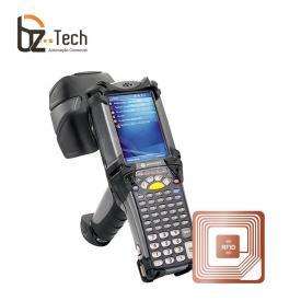 Coletor de Dados Zebra MC9190z Imager 2D QR Code RFID - 3.7 Polegadas, Alfanumérico, Wi-Fi, Bluetooth, Windows Mobile 6.5 - Gun (Symbol/Motorola)