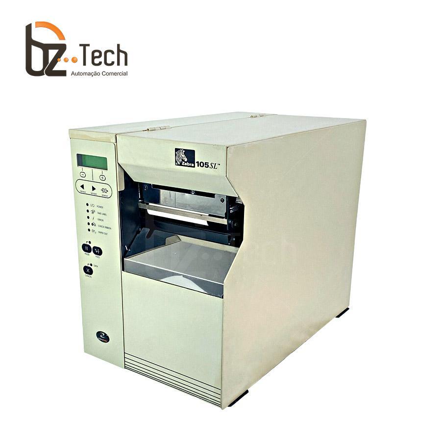 Zebra Impressora Etiquetas 105sl 203dpi Ethernet