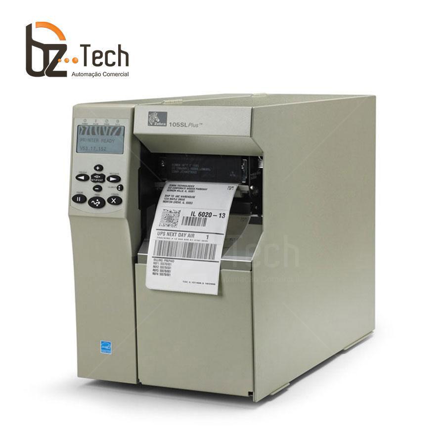 Zebra Impressora Etiquetas 105sl 300dpi 16mb Ethernet