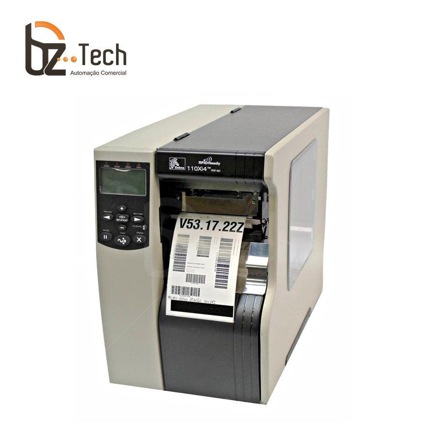Zebra Impressora Etiquetas 110xi4 203dpi Ethernet