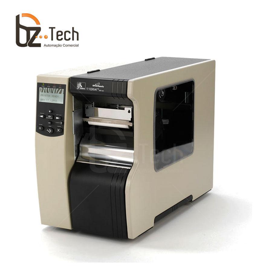 Zebra Impressora Etiquetas 110xi4 600dpi Ethernet