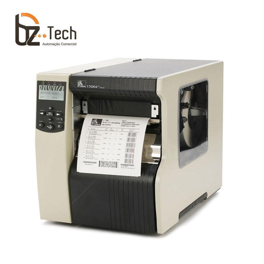 Zebra Impressora Etiquetas 170xi4 203dpi Ethernet