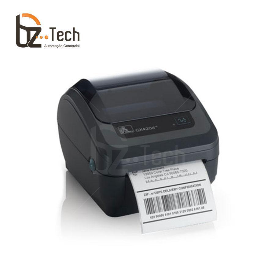 Zebra Impressora Etiquetas Gk420t 203dpi
