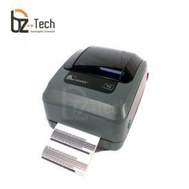 Zebra Impressora Etiquetas Gx430t 300dpi Ethernet Lado