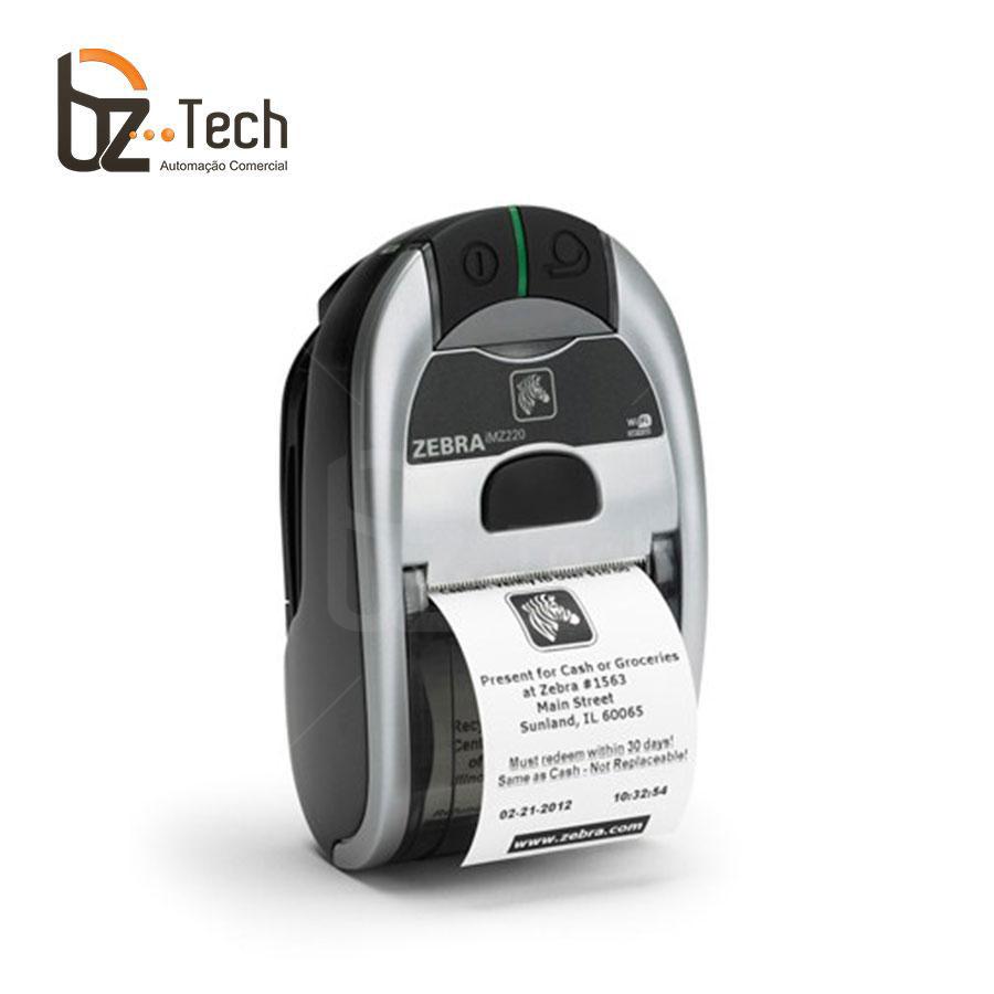 Zebra Impressora Etiquetas Portatil Imz220 203dpi Bluetooth