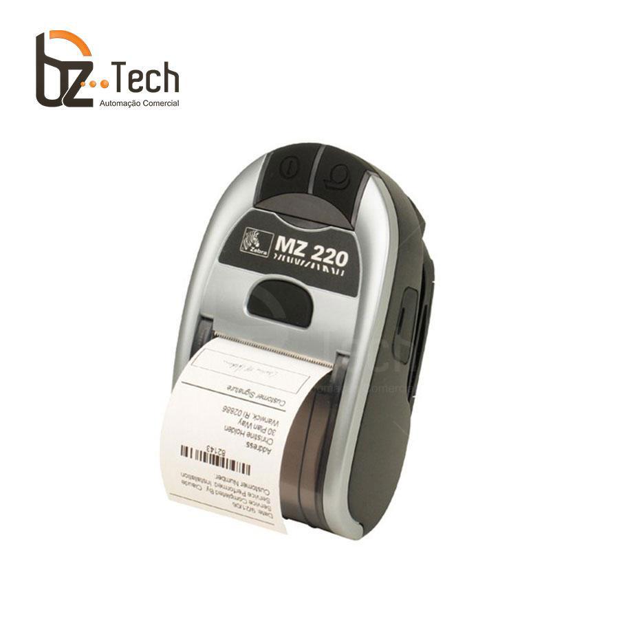 Foto Zebra Impressora Etiquetas Portatil Mz220 Bluetooth