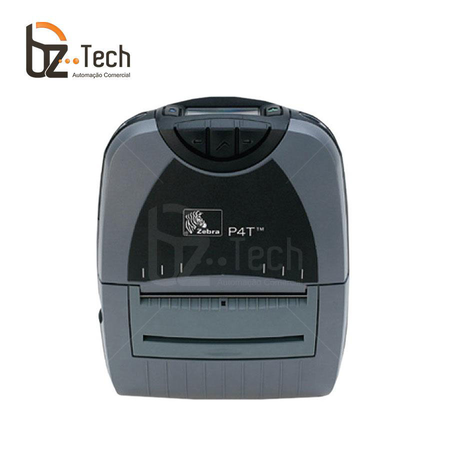 Zebra Impressora Etiquetas Portatil P4t 203dpi Wifi