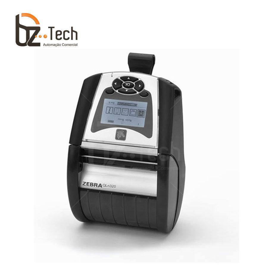 Zebra Impressora Etiquetas Portatil Qln320 203dpi Bluetooth Wifi