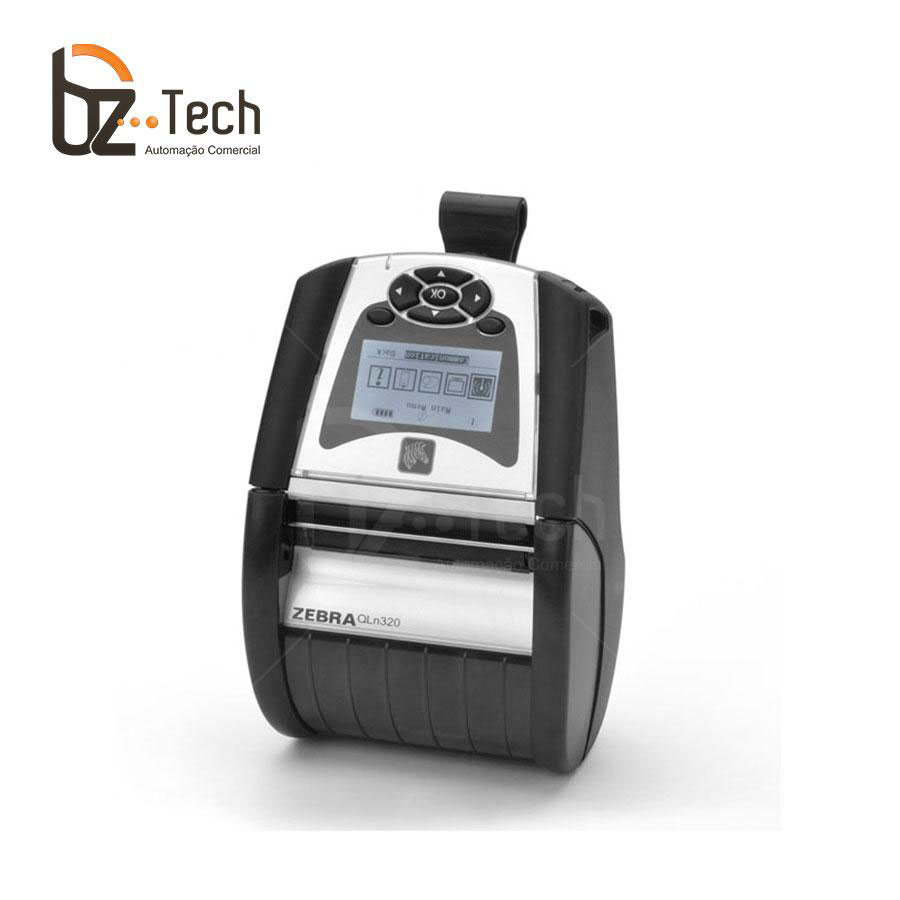 Zebra Impressora Etiquetas Portatil Qln320 203dpi Bluetooth
