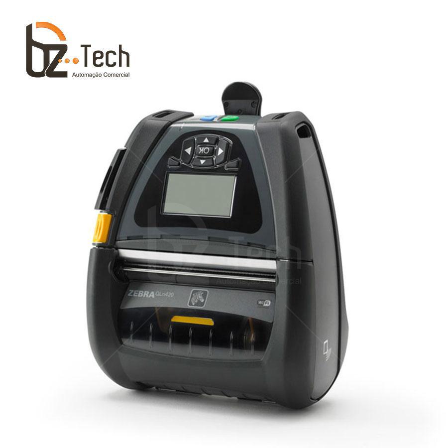 Zebra Impressora Etiquetas Portatil Qln420 203dpi Wifi