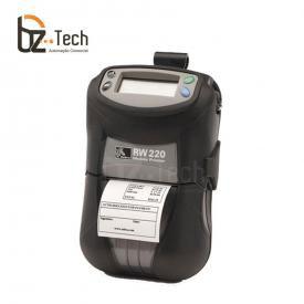 Impressora de Etiquetas Portátil Zebra RW 220 203dpi - Bluetooth