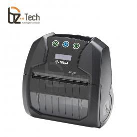 Zebra Impressora Etiquetas Portatil Zq220 Bluetooth