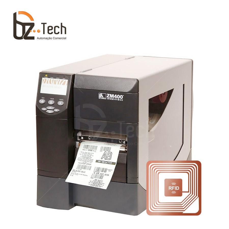 Foto Zebra Impressora Etiquetas Rz400 203dpi Rfid
