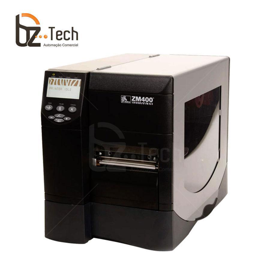Zebra Impressora Etiquetas Zm400 600dpi