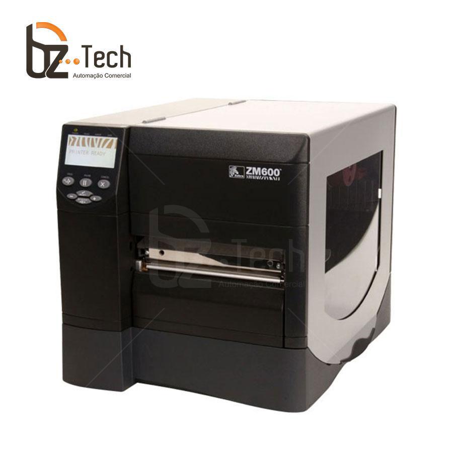 Zebra Impressora Etiquetas Zm600 203dpi