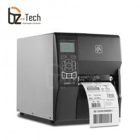 Foto Zebra Impressora Etiquetas Zt230 203dpi Wifi Direita