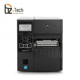 Foto Zebra Impressora Etiquetas Zt410 203pdi Ethernet Frente
