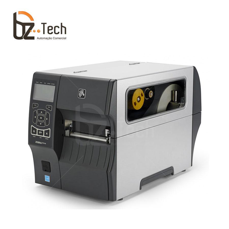 Zebra Impressora Etiquetas Zt410 203pdi Ethernet Wifi