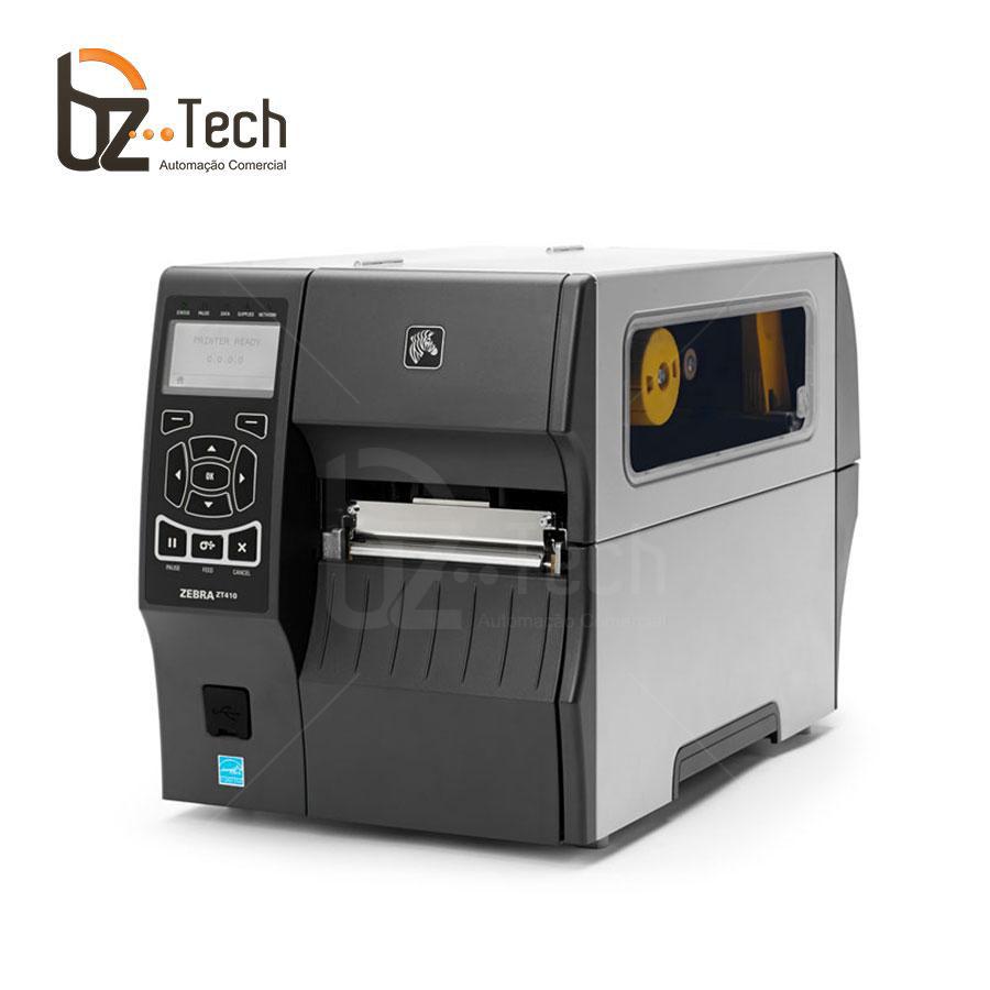 Zebra Impressora Etiquetas Zt410 300dpi Peeloff Ethernet