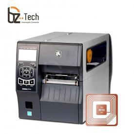 Zebra Impressora Etiquetas Zt410 Ethernet Rfid