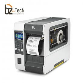 Zebra Impressora Etiquetas Zt610 203dpi Bluetooth Ethernet