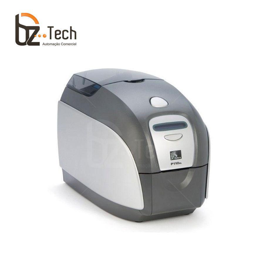 Foto Zebra Impressora P110i Uma Face