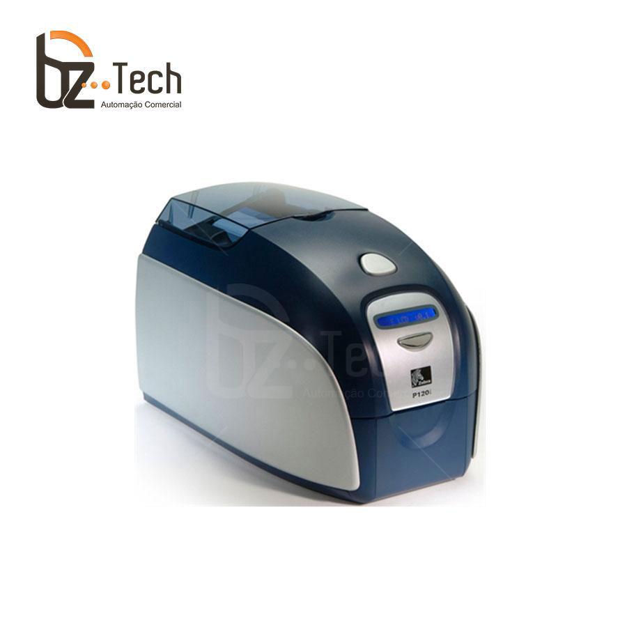 Foto Zebra Impressora P120i Dupla Face