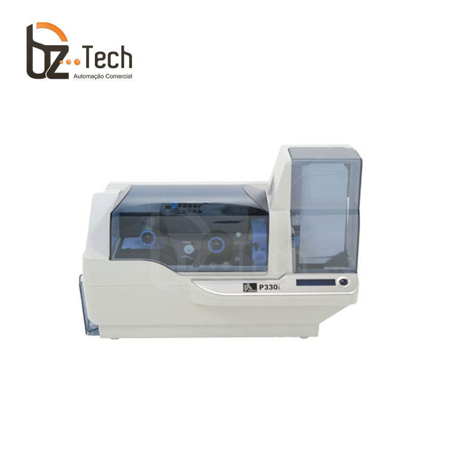 Foto Zebra Impressora P330i Uma Face