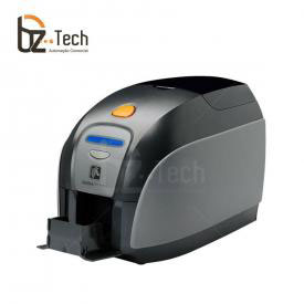 Impressora de Cartão Zebra ZXP Serie 1 Uma Face - Ethernet e Gravador Magnético