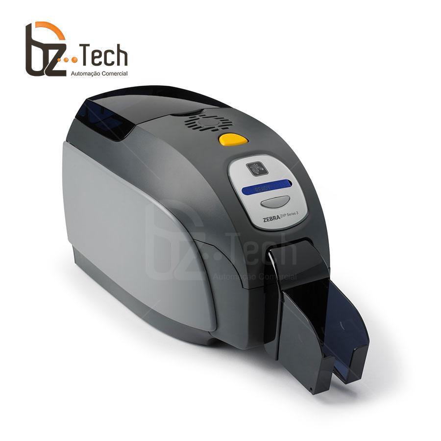 Zebra Impressora Serie3 Uma Face Gravador