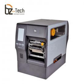 Zebra ZT411 300dpi com Rebobinador de Etiquetas