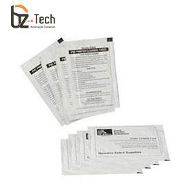 Kit Limpeza Zebra para Impressora P330i e P430i - 25 Cartões Tamanho Padrão e 25 Tamanho Grande Tipo T