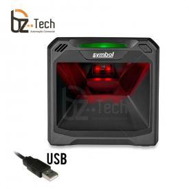 Leitor Fixo Zebra DS7708 Imager 2D QR Code (Symbol/Motorola) - USB