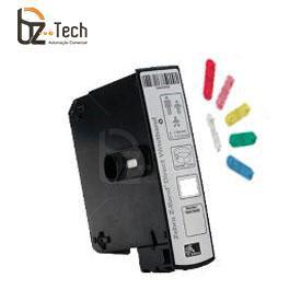 Pulseira Zebra Criança Z-Band Comfort Com Clipes para Impressora HC100 - Branca (1x7 Polegadas)