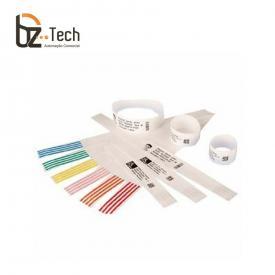 Pulseira Zebra Z-Band Direct para Impressora LP2824 Plus, ZD410 - Branca (1x11 Polegadas)